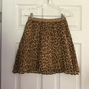 GAP Kids Adorable Leopard Skirt